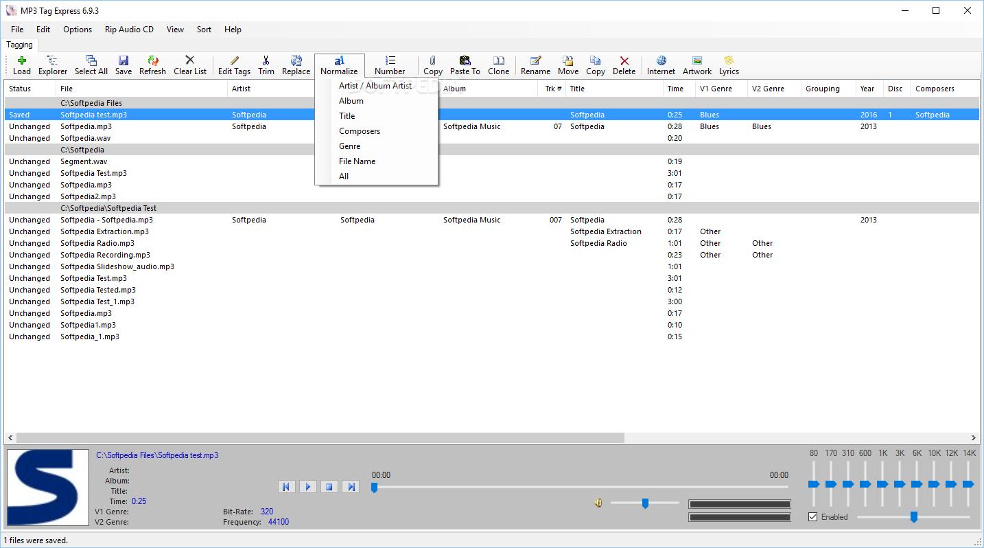 Download MP3 Tag Express 6 9 5