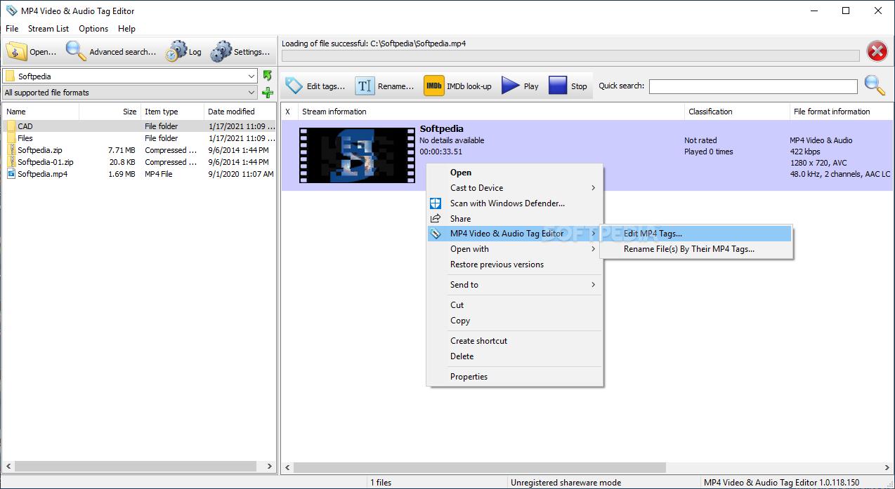 download mp4 video  u0026 audio tag editor 1 0 85 104
