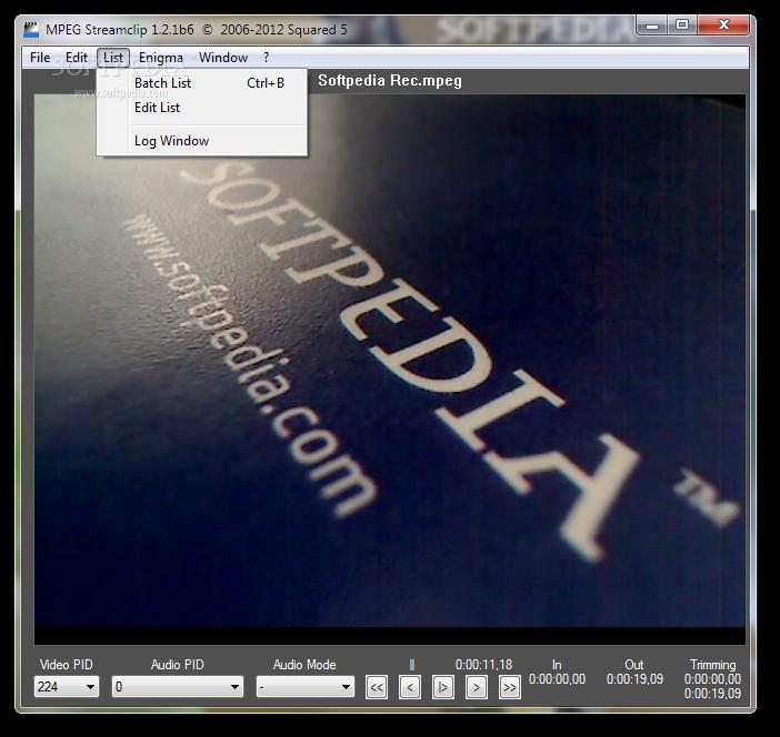 MPEG STREAMCLIP 7 TÉLÉCHARGER WINDOWS