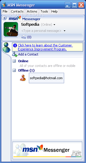 MSN BAIXAR MESSENGER7.0
