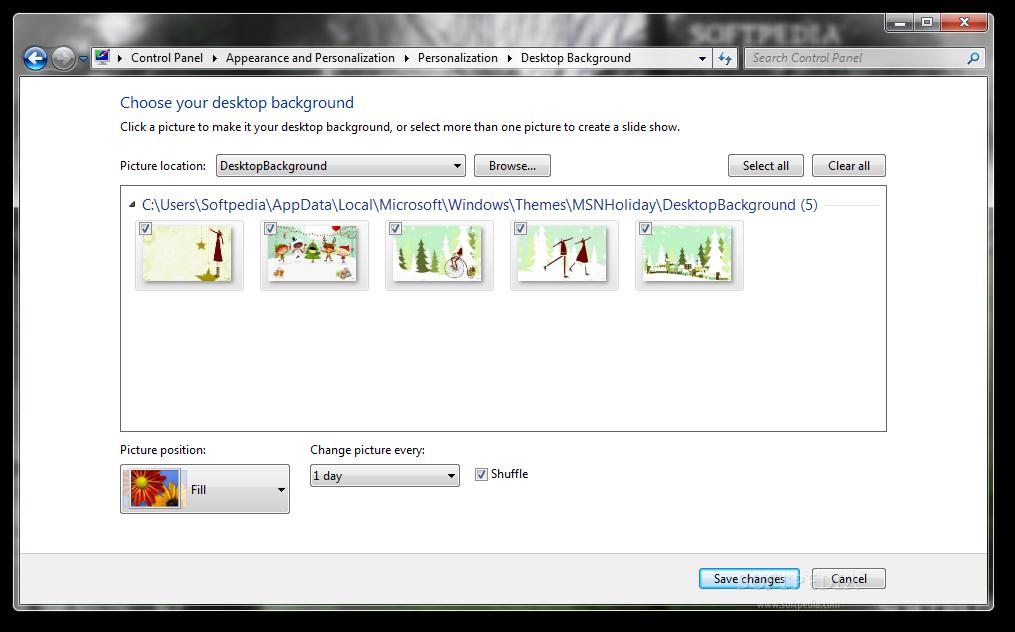 download msn wallpaper and screensaver pack 2012 holidays 1 7 1 7