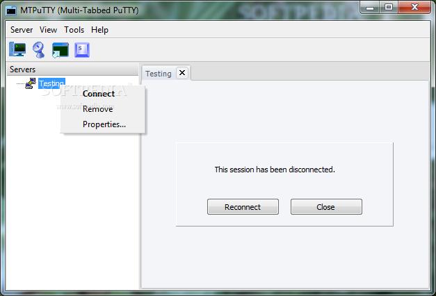 Download MTPuTTY (multi PuTTY) 1 6 0 176 Beta