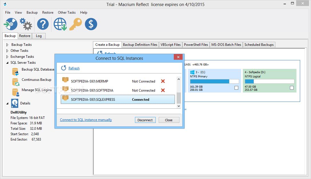 macrium reflect server 32 bit