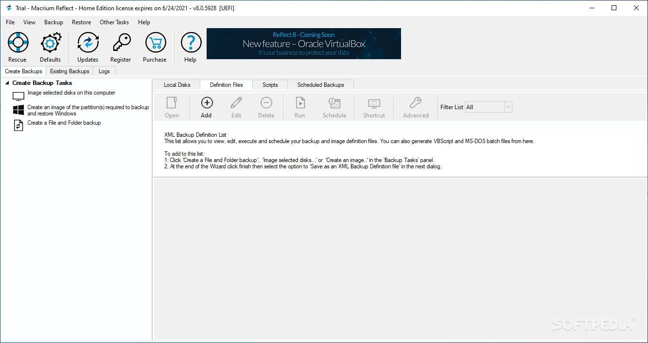 Download Macrium Reflect Home Edition 7.2 Build 4063