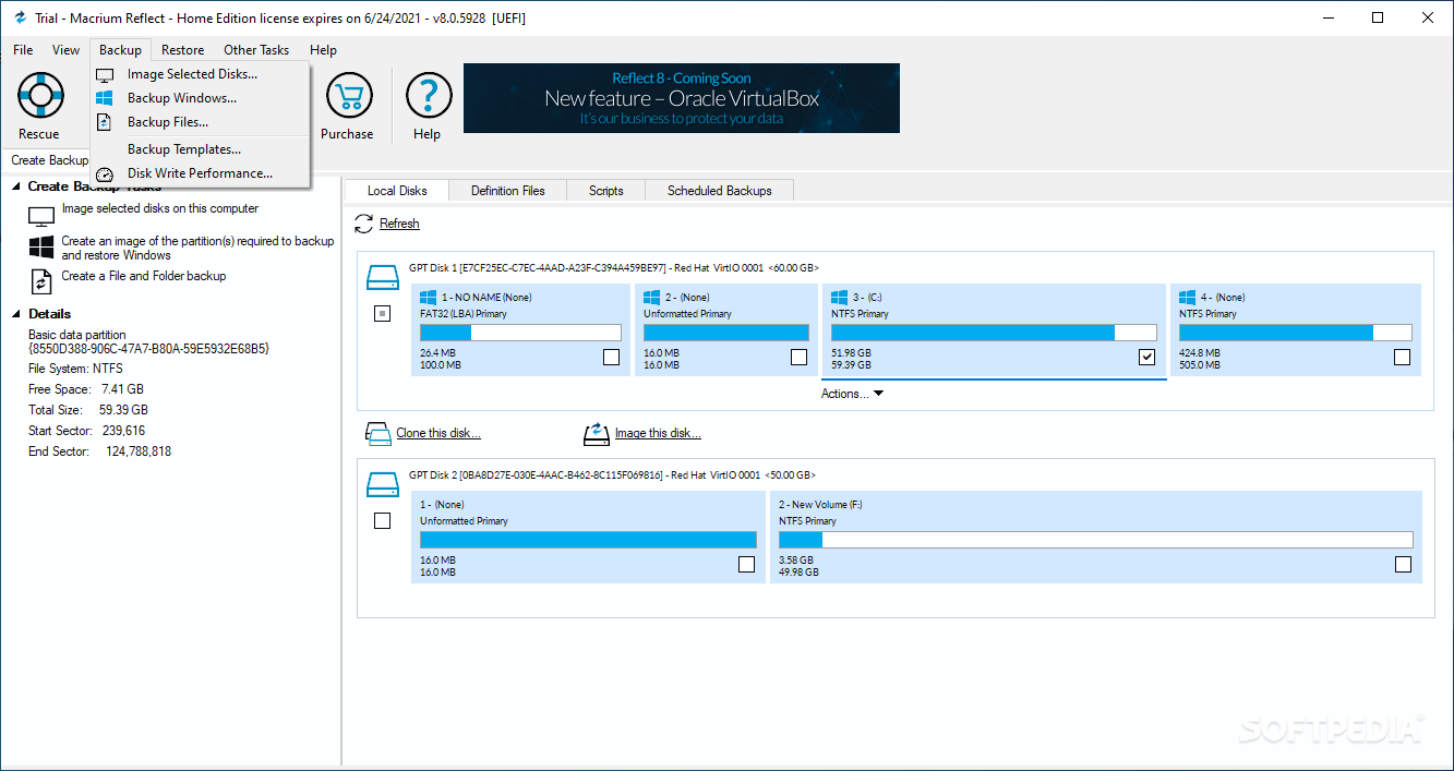 how to use macrium reflect software