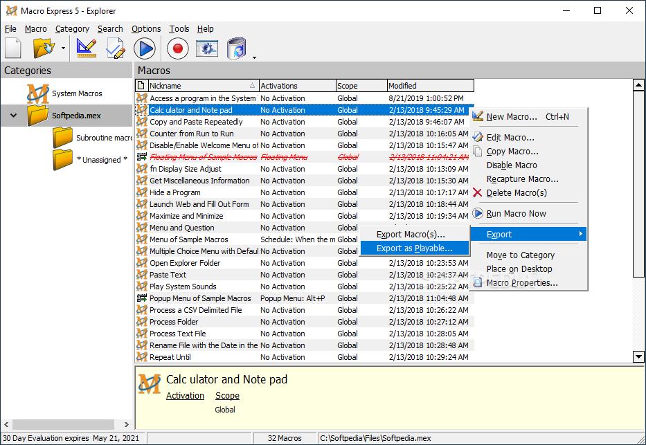 Download Macro Express 5 1 1 1