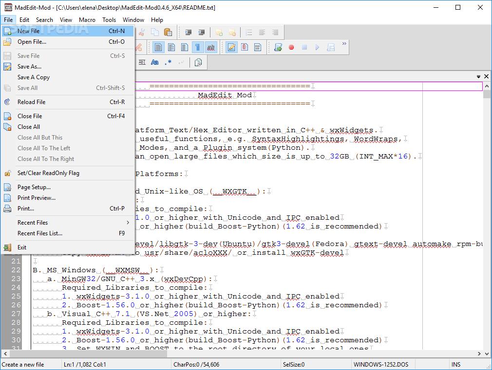 Download MadEdit-Mod 0 4 17