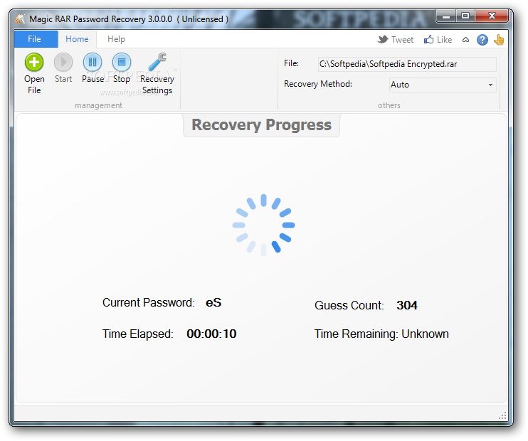 crack rar password recovery magic
