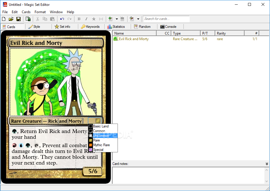 Download Magic Set Editor 200