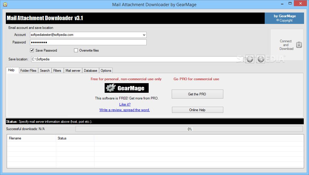 Download Mail Attachment Downloader 3 2 Build 1016