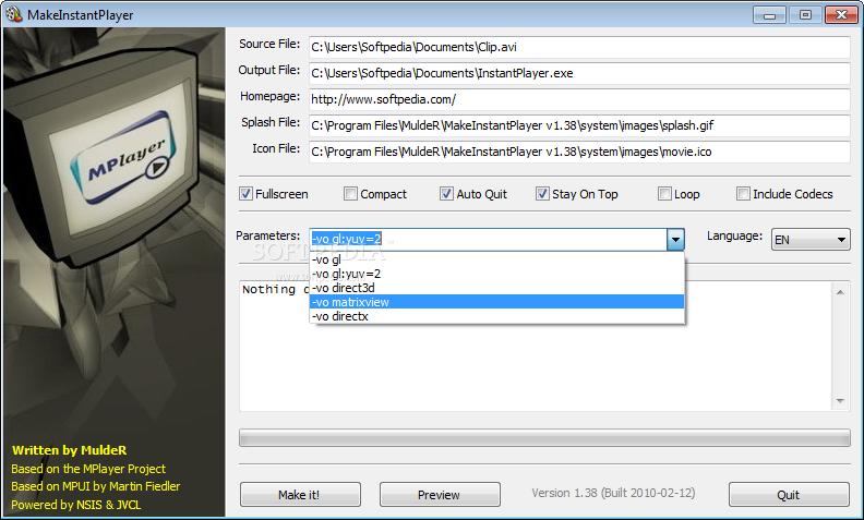 3.2 Installer Usage