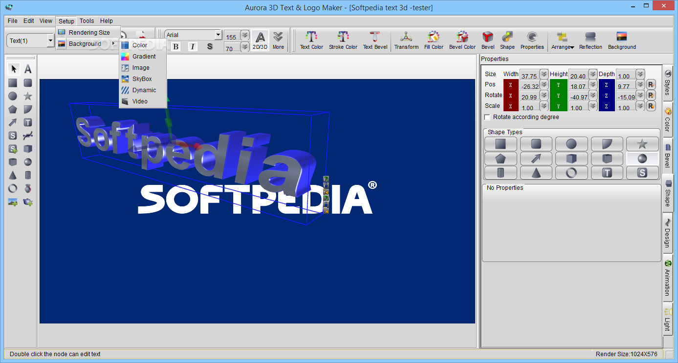 Download Aurora 3d Text Logo Maker The Best Graphic Apps