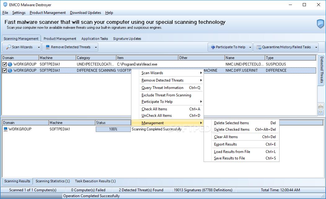 malware scanner for windows 2003