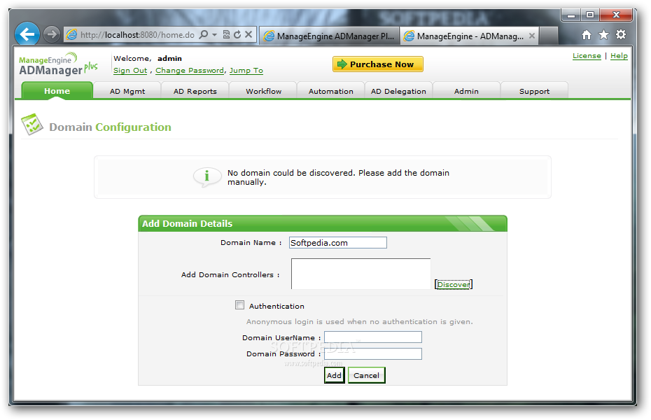 Download Manageengine Admanager Plus Standard Edition 6 0