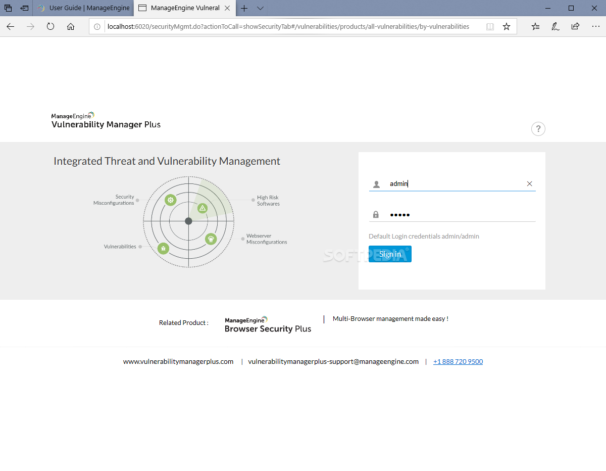 Download ManageEngine Vulnerability Manager Plus 10 0 336