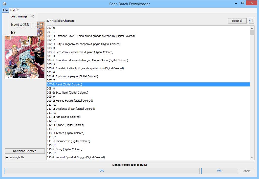 Download Eden Batch Downloader 6 2 1