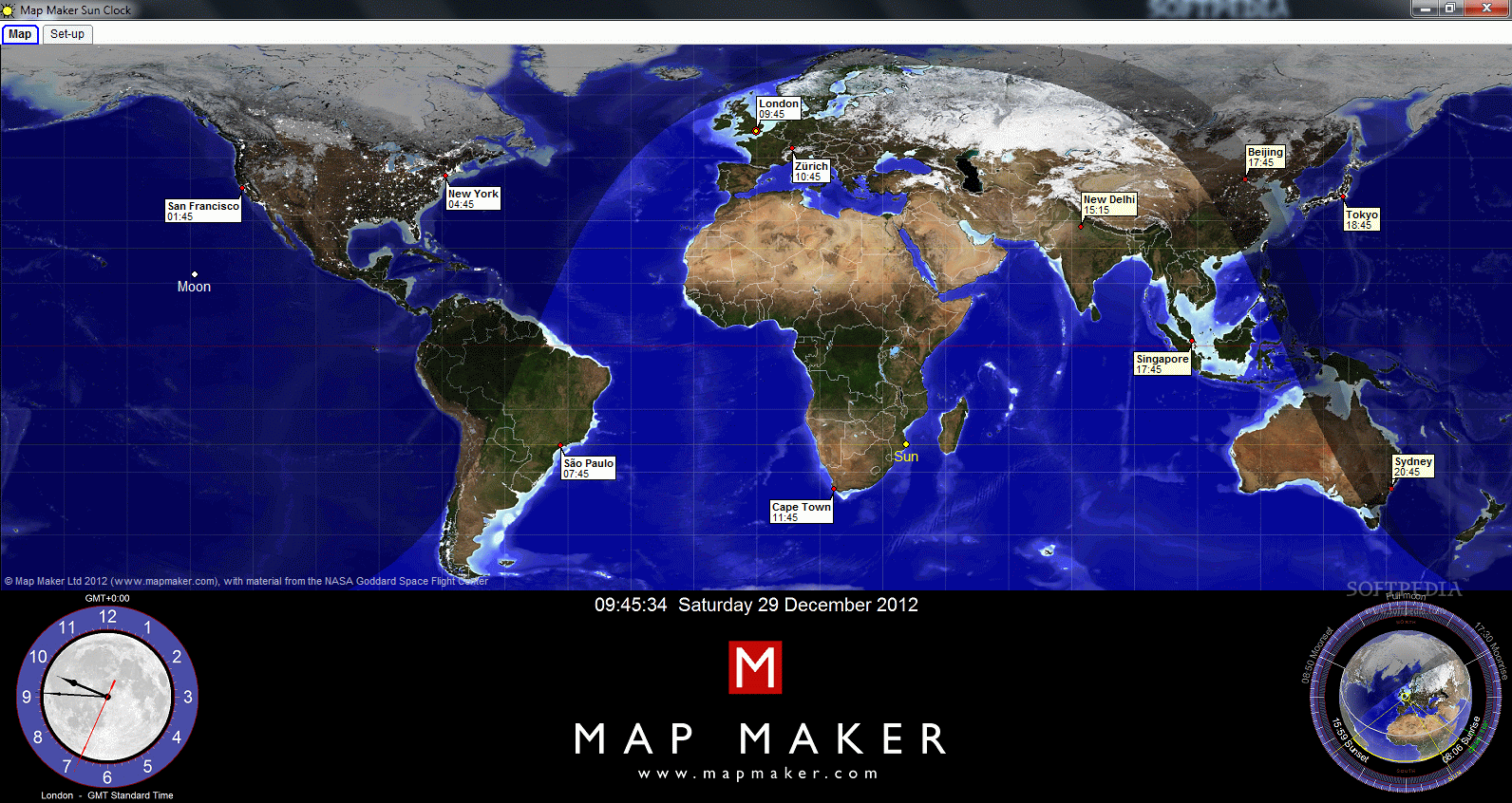 Download Map Maker Sun Clock 7