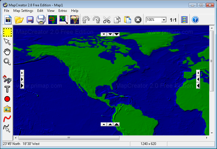 MapCreator Free Edition Download