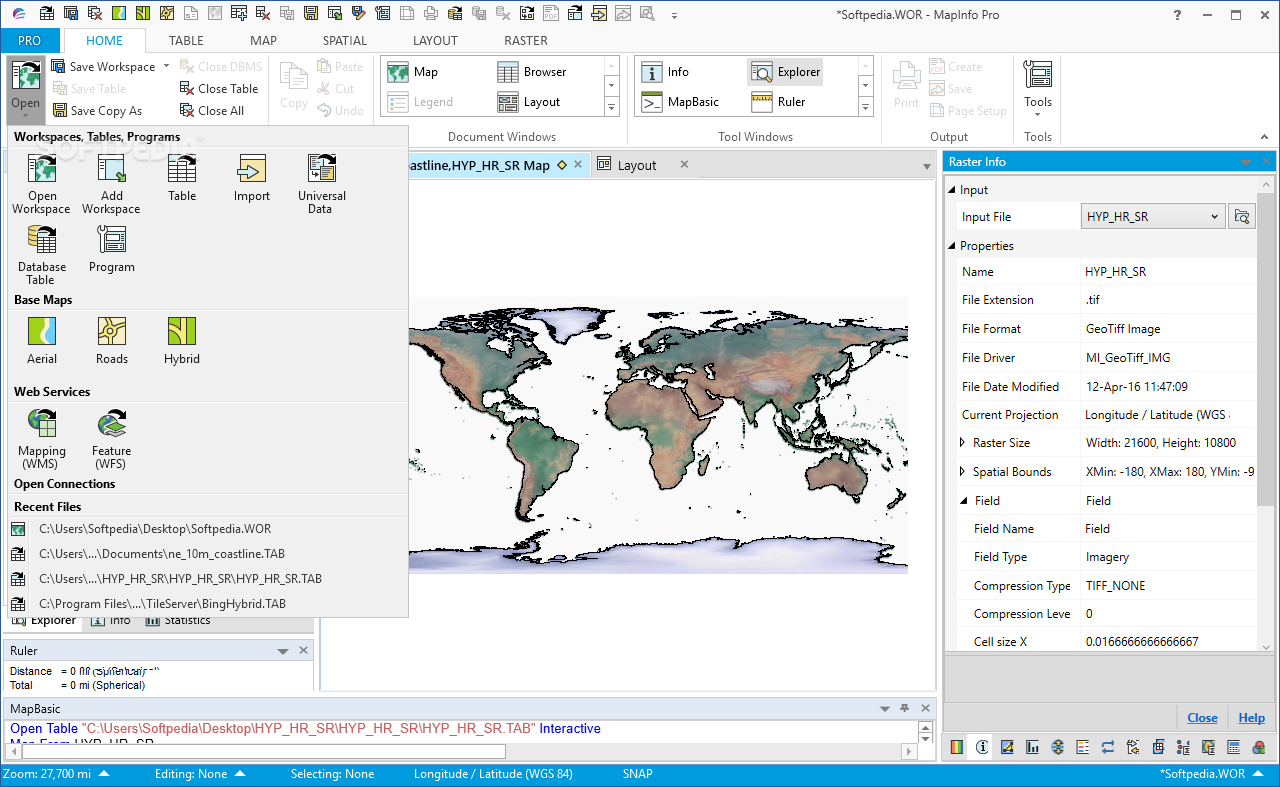 Download MapInfo Professional 17.0.0 Build 0071