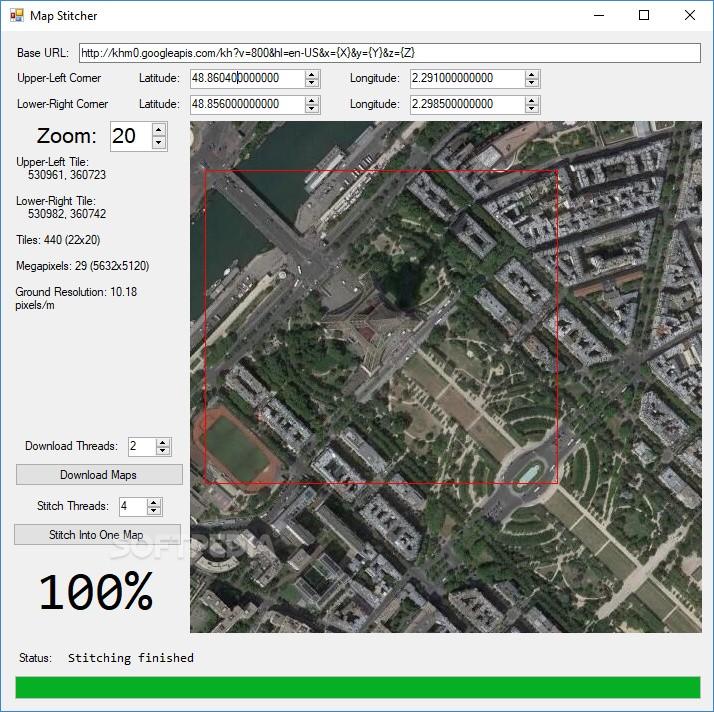 Download Map Stitcher 1 0
