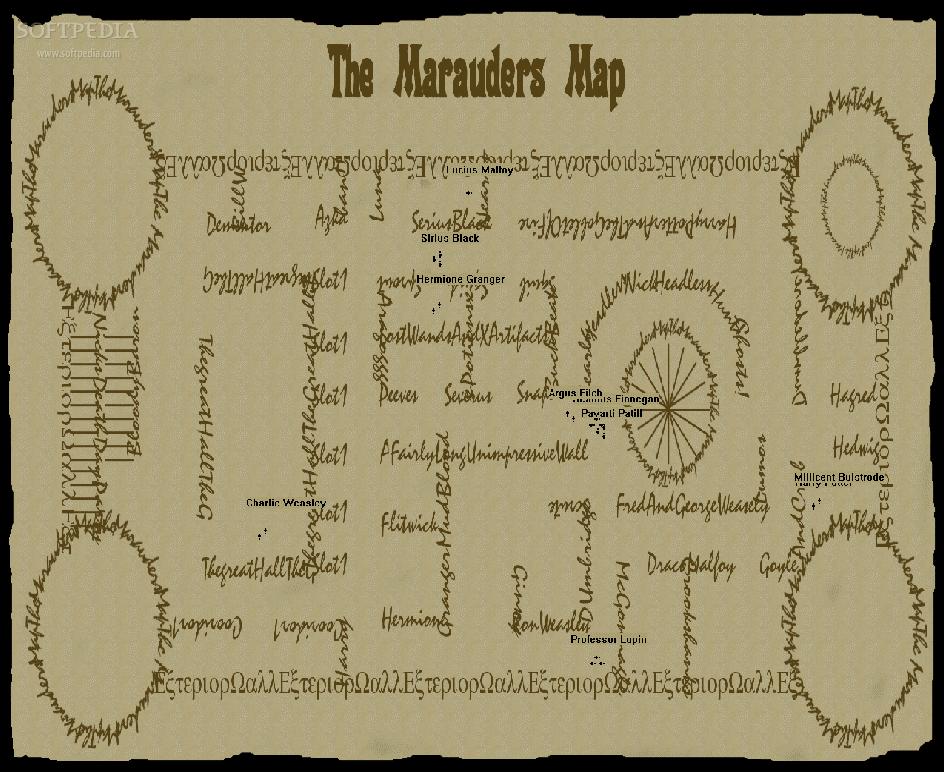 Download Marauders Map Screensaver 10