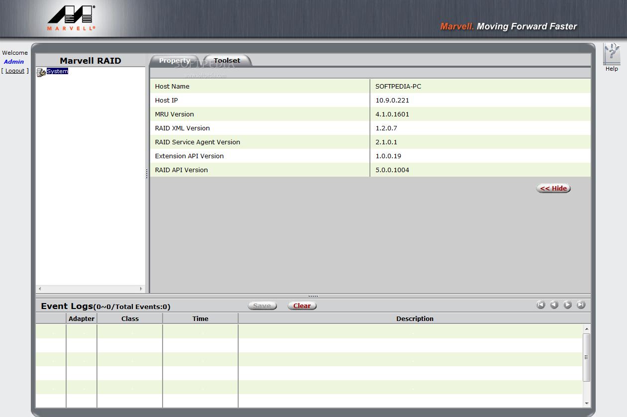 Download Marvell Raid Utility 4 1 0 1610
