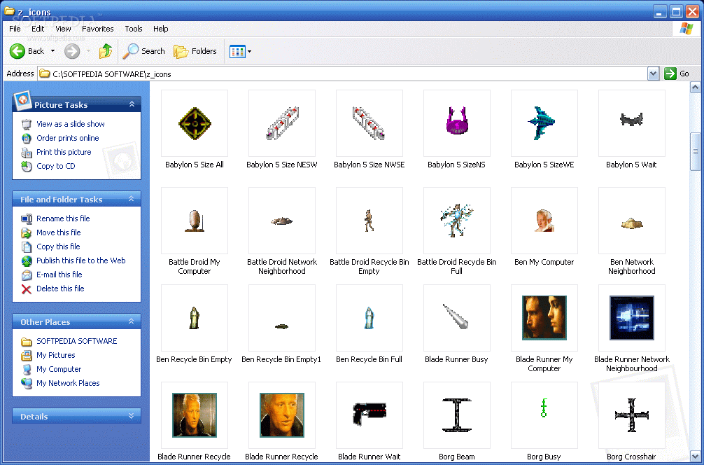 descargar star wars icons gratis