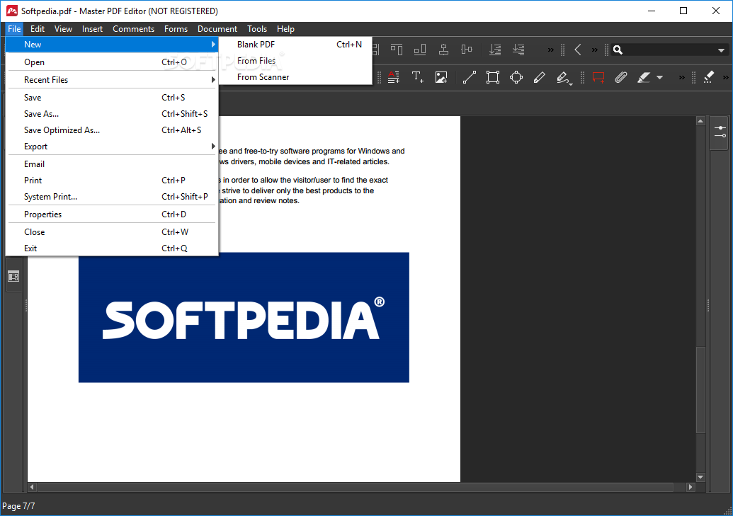 Foxit Pdf Editor Softpedia