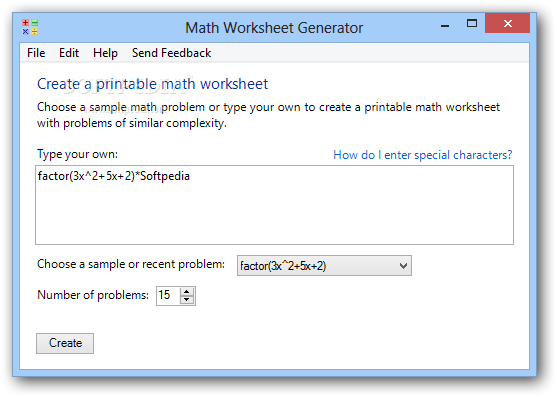 Math Worksheet Generator Download – Math Fact Worksheet Creator