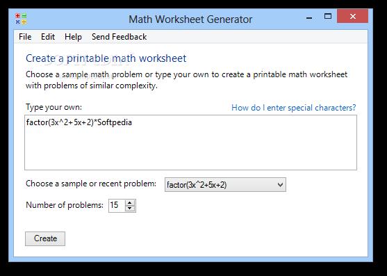 Download Math Worksheet Generator 102009903
