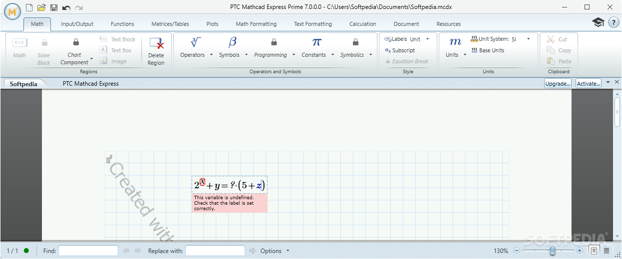 Download PTC Mathcad Express Prime 5 0 0 0