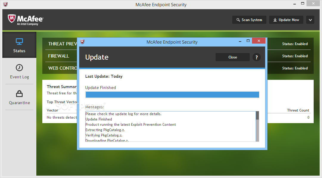 Download Mcafee Endpoint Security 10 5 3 3178 10 6 0 414