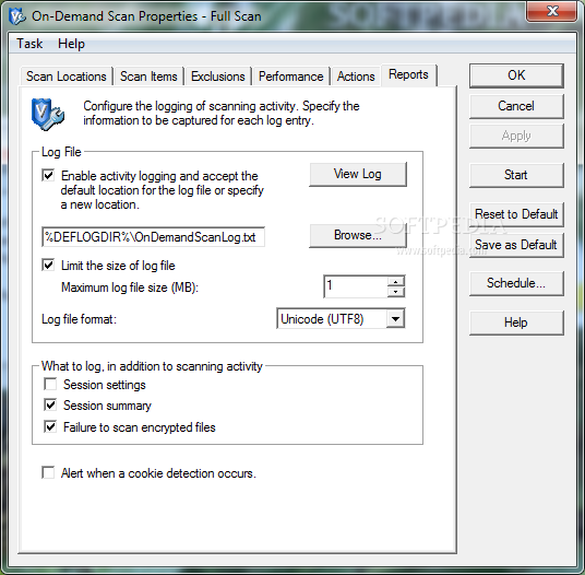 Screenshot 24 of McAfee VirusScan Enterprise.