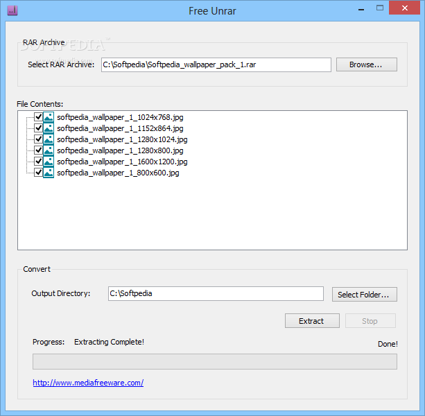 Unrar Extract and Recover download