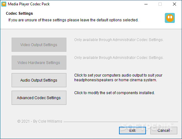Download Media Player Codec Pack Plus 4 5 4