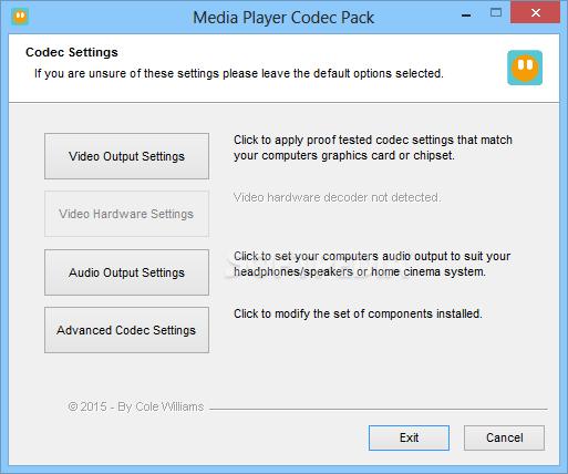 Download Media Player Codec Pack Plus 4 5 3