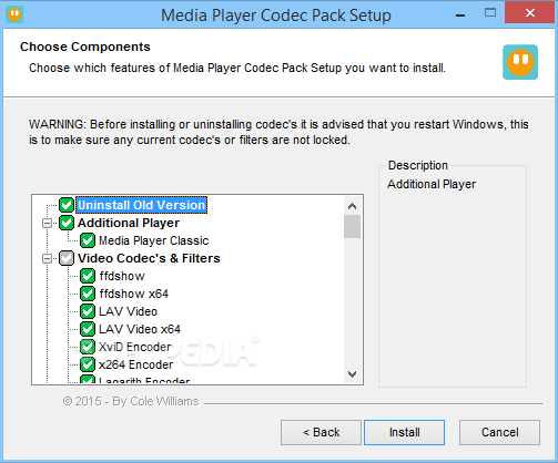 Codec Pack Windows 7 64Bit
