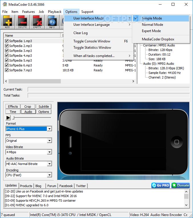 mediacoder ipod video