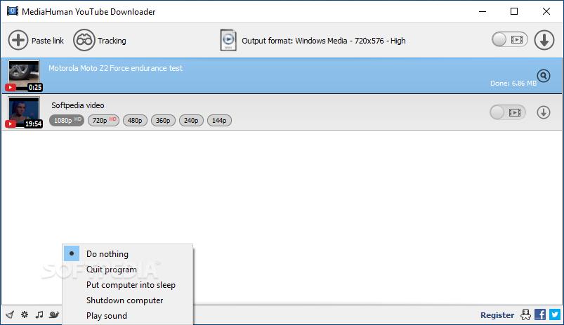 Mediahuman youtube to mp3 windows 7