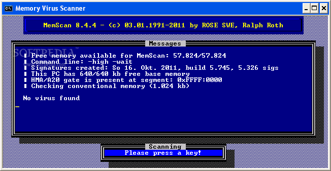 Download MemScan 10 50