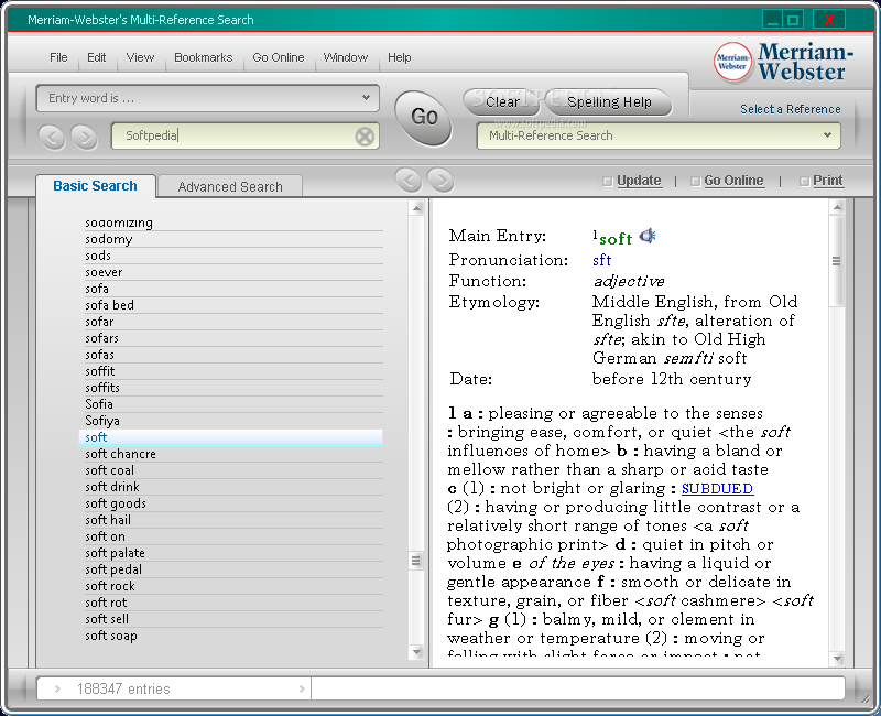 Merriam-Webster's Collegiate Dictionary & Thesaurus Screenshots ...