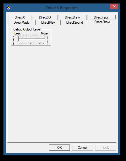 Download Microsoft DirectX Control Panel 9 0c Build 5 04 00 3900