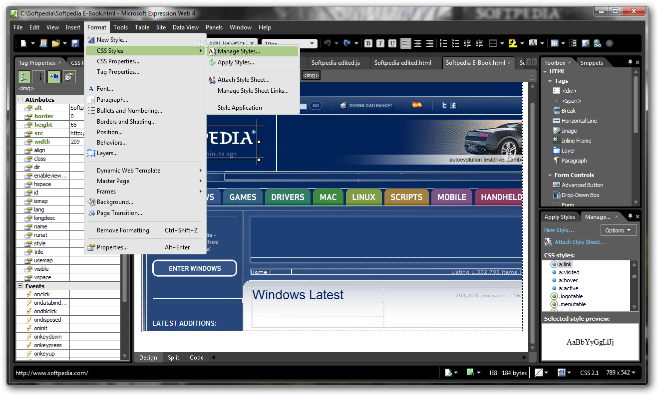 Microsoft expression web 4 download