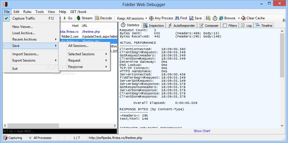 http debugger vs fiddler
