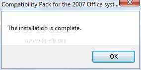 Microsoft office compatibility pack for word excel and - Office compatibility pack for office 2007 ...