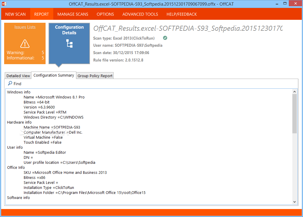 Download microsoft office configuration analyzer tool for Office configuration