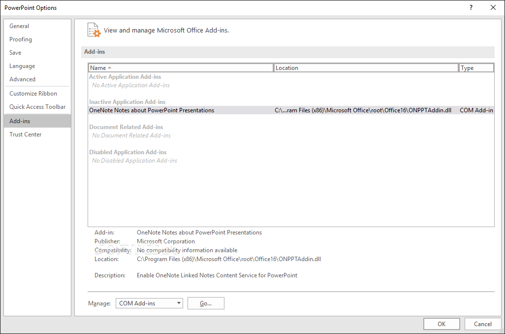 Download Microsoft PowerPoint 2016 16 0 6741 2048