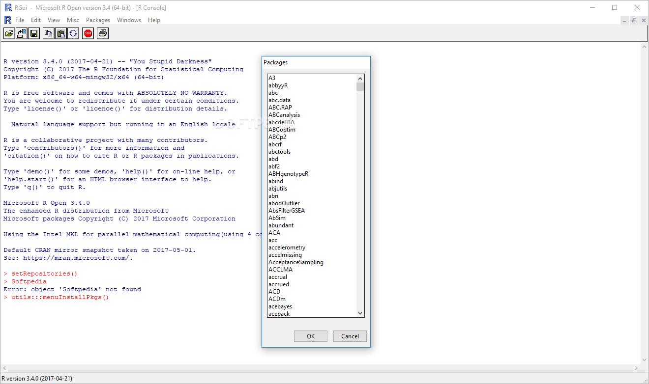 Download Microsoft R Open 3 5 2