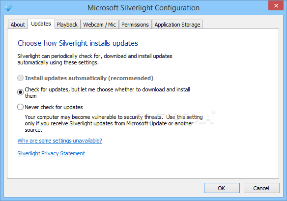 silverlight windows 10