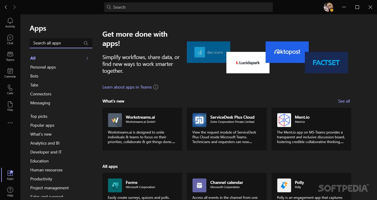 Download Microsoft Teams 1.3.00.15561